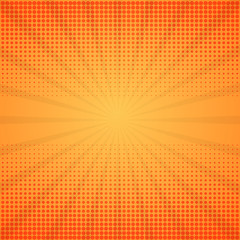 Comic background. Halftone vector illustration