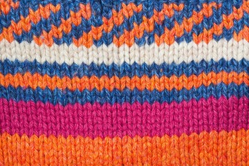 Nice knitted surface.Closeup