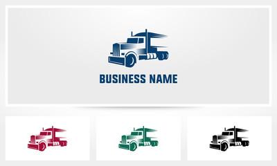 Truck Trailer  Fast Logo
