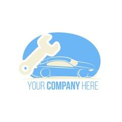 Car repair logo icon Vector