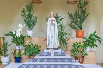 Образ - Богородица, Дева Мария в храме Ольги и Елизаветы во Львове. Украина