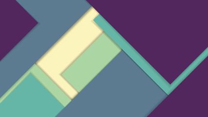 Modern material design vector background.