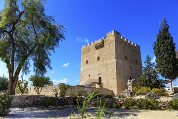The medieval castle of Kolossi near Limassol in Cyprus.