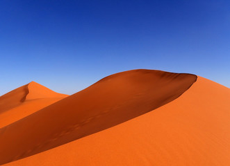 Sanddüne Erg Chebbi in Marokko