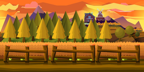 Farm Game Background