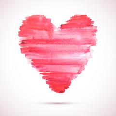 Watercolor-heart-brush-pink