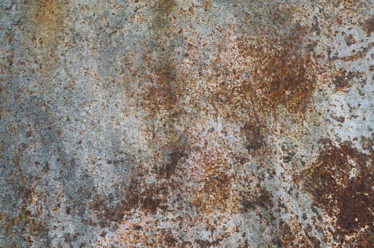 old weathered rusted metal background