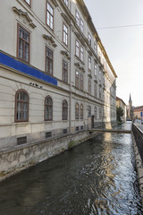 Graz downtown water canal, Austria