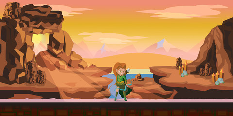 game background 2d game