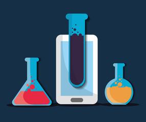 Data Science design , vector illustration