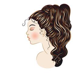 Fashion Stylized Hair