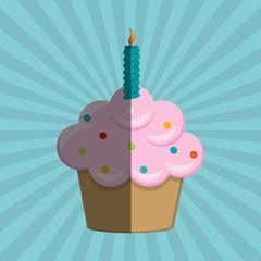 cupcake icon design