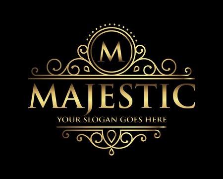 Majestic logo icon vector