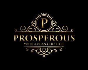 Prosperous Luxury Logo template
