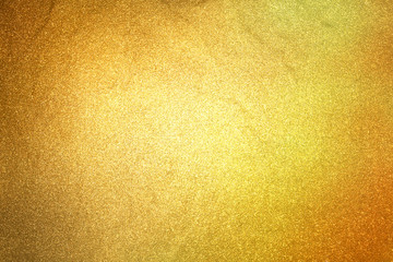 close up golden glitter stone wall texture for glamour holiday b