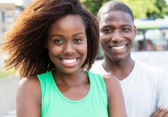 Afrikaner flirten