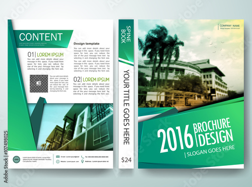 Quot Vector Brochure Magazine Modern Flyers Cover Annual