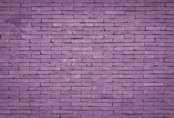 Purple brick wall background, vintage style