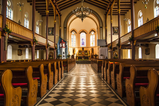Kościół Św. Michała Archanioła w Skarszewach, Polska, województwo Pomorskie