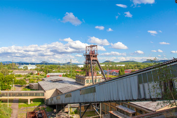 Mine tower, Most, Czech Republic