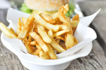 French fries dish