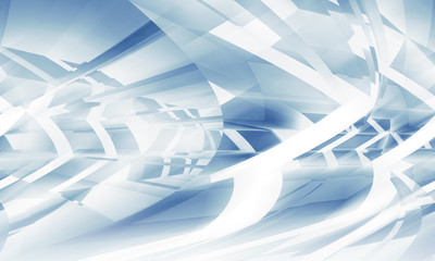 Abstract 3d digital background, blue pattern