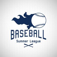 Baseball Summer League logo