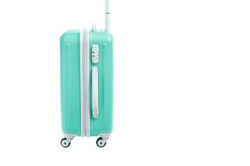 travel bag isolated on white