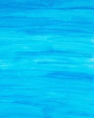 Blauer Hintergrund, Gouache auf Papier