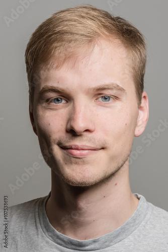 Bewerbungsfoto Eines Jungen Mannes Stockfotos Und Lizenzfreie