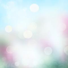 Spring or summer background blur.