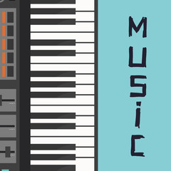 Musical Instrument Design, Vector illustration
