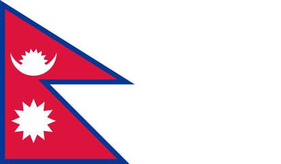 Fototapeta Nepal flag obraz