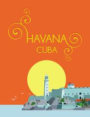 havana cuba background