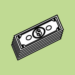 bills icon design , vector illustration