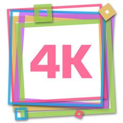 4K Colorful Frame