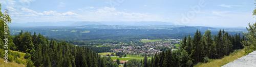 Wall mural Panorama vom Hohenpeißenberg in Oberbayern