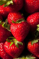 Raw Red Organic Strawberries