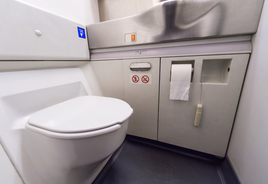 airplane toilets
