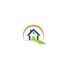 home nature sun logo