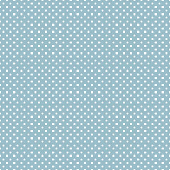 Digital Paper for Scrapbook Light Blue Classic polka dot seamless