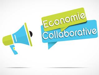 mégaphone : économie collaborative