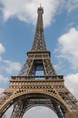 Eiffel Tower, Paris, France, Europe.