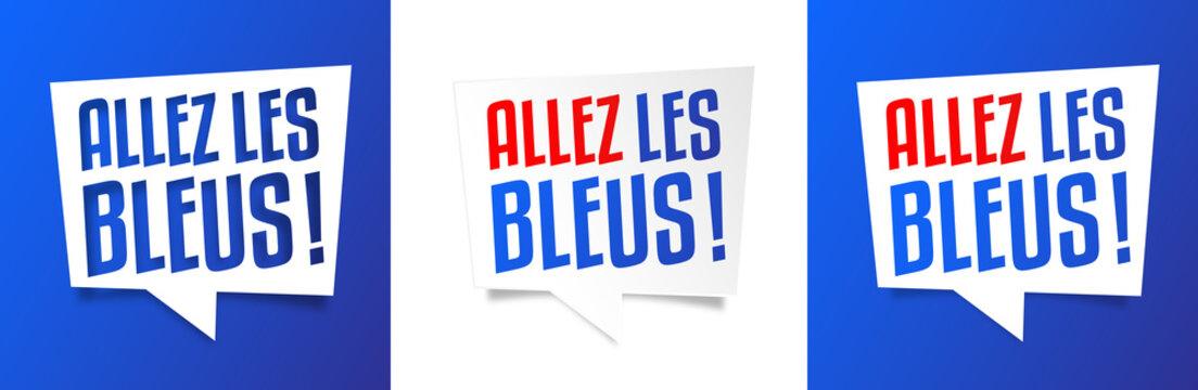 Allez les bleus !
