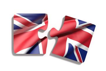 Puzzle UK flag