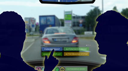 adi23 AutonomousDrivingIllustration - autonomous driving and automatic park assist - 16to9 g4340