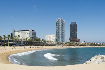 Waves at Barcelona Beach
