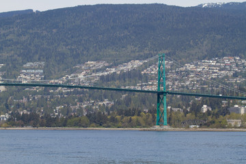 Wall Mural - Lions Gate Bridge