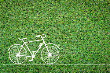 bicycle drawing on grass field.jpg