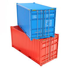Group cargo containers